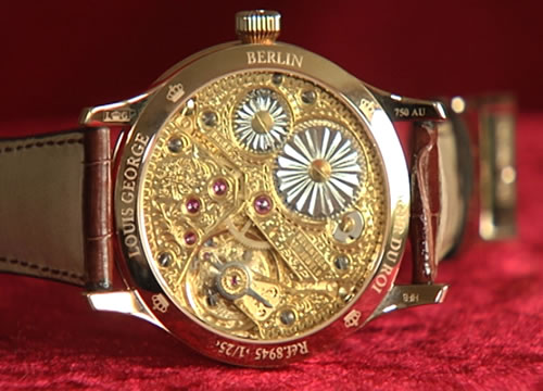 Louis George in Kooperation mit der Pforzheimer Schmuckindustrie - Horloger du Roy - Königlicher Uhrmacher